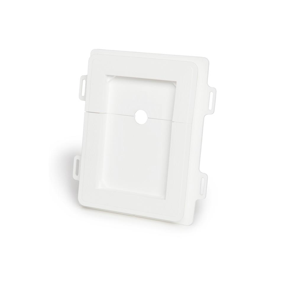 5001 Split Recessed Plug Water Plate (SRPW)