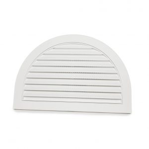 "Half Moon Gable Vent - 22""x34"""